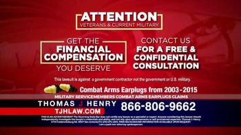 Thomas J. Henry Injury Attorneys TV Spot, 'Combat Arms Earplugs' - Thumbnail 4