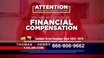 Thomas J. Henry Injury Attorneys TV Spot, 'Combat Arms Earplugs' - Thumbnail 2