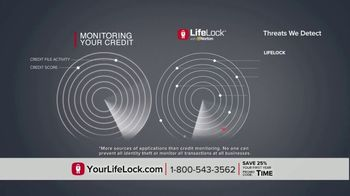 LifeLock TV Spot, 'DSP1 V1F Rev1: Tom5 25 HB' - Thumbnail 4