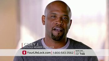 LifeLock TV Spot, 'DSP1 V1F Rev1: Tom5 25 HB' - 139 commercial airings