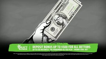 DraftKings Sportsbook TV Spot, 'Keep Things 100: Deposit Bonus' - Thumbnail 2