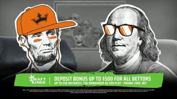 DraftKings Sportsbook TV Spot, 'Keep Things 100: Deposit Bonus'