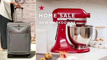 Macy's Home Sale TV Spot, 'New Markdowns Storewide' - Thumbnail 2