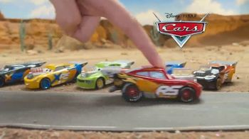 Disney Pixar Cars XRS Drag Racing Playset TV Spot, 'Cool Flames' - Thumbnail 1