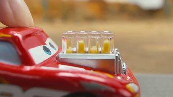 Disney Pixar Cars XRS Drag Racing Playset TV Spot, 'Cool Flames' - Thumbnail 2