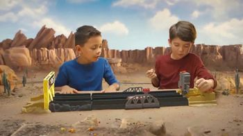 Disney Pixar Cars XRS Drag Racing Playset TV Spot, 'Cool Flames'