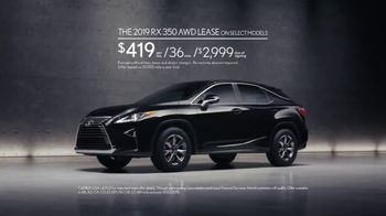 2019 Lexus RX 350 TV Spot, 'Attention' [T2] - Thumbnail 10