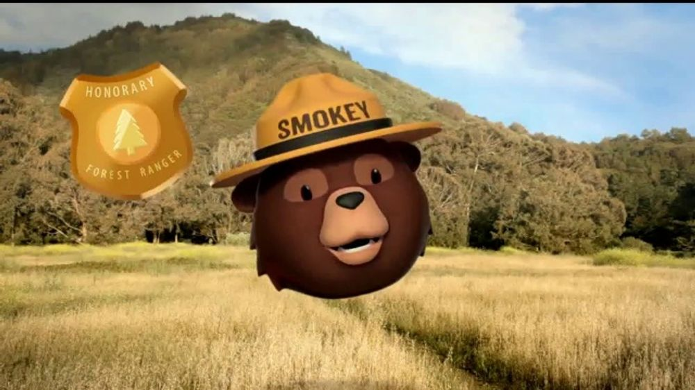 Smokey Bear Campaign TV Commercial, 'Tall Grass Wildfires' Featuring Betty White