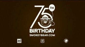 Smokey Bear Campaign TV Spot, 'Tall Grass Wildfires' Featuring Betty White - Thumbnail 10