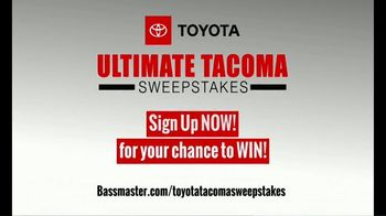 Bassmaster TV Spot, 'Ultimate Toyota Tacoma Sweepstakes' - Thumbnail 4