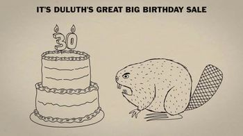Duluth Trading Company Great Big Birthday Sale TV Spot, '30 Percent Off' - 384 commercial airings