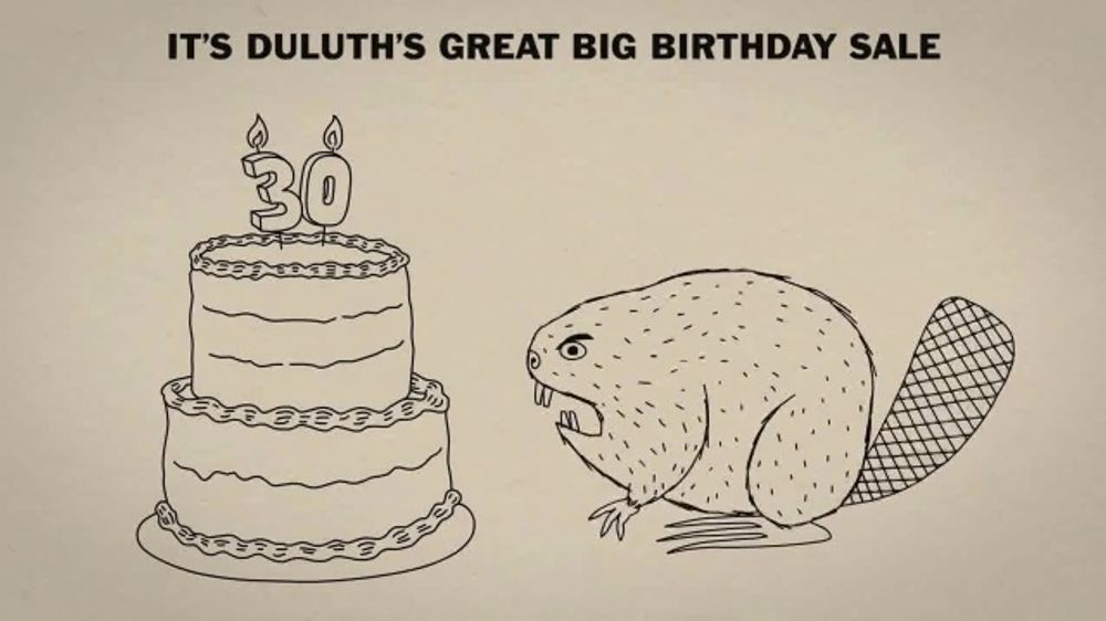 Duluth Trading Company Great Big Birthday Sale TV Commercial, '30 Percent Off'