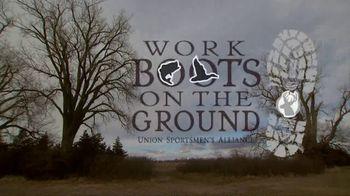 Union Sportsmen's Alliance TV Spot, 'Work Boots on the Ground Program' - Thumbnail 6