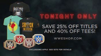 WWE Shop TV Spot, 'Inspired by Millions: 25 Percent Off Titles' - Thumbnail 7