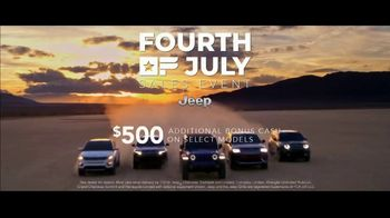 Jeep Fourth of July Sales Event TV Spot, 'It's a Trail' Song by Dermot Kennedy [T2] - Thumbnail 8