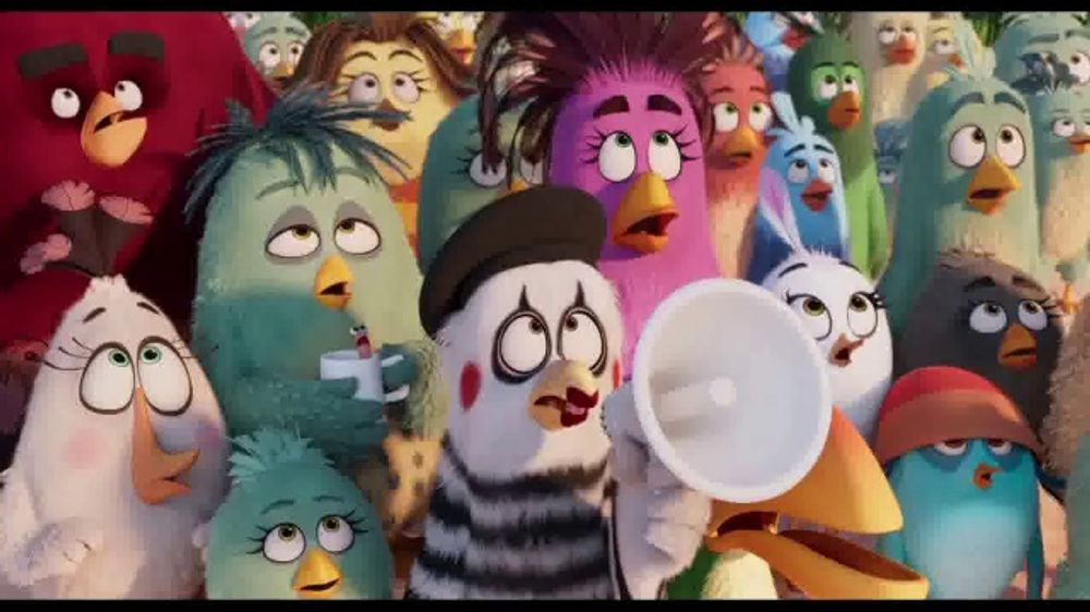 The Angry Birds Movie 2 Tv Movie Trailer Ispot Tv