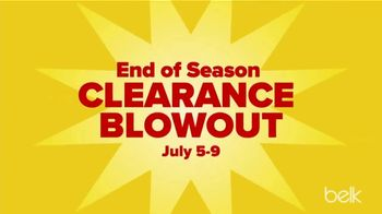 Belk End of Season Clearance Blowout TV Spot, 'Tops, Dresses and Shorts' - Thumbnail 2