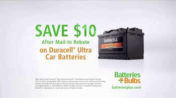 Batteries Plus TV Spot, 'Busy: Duracell Ultra Car Battery' - Thumbnail 5
