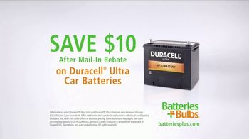 Batteries Plus TV Spot, 'Busy: Duracell Ultra Car Battery' - Thumbnail 6