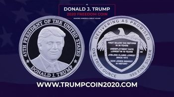 Trump Coin 2020 TV Spot, 'Freedom Coin' - 26 commercial airings