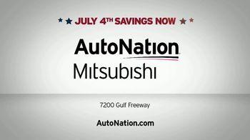 AutoNation July 4th Savings TV Spot, 'Reputation Score: 2018 Mitsubishi Eclipse Cross' - Thumbnail 6