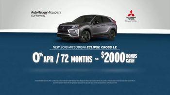 AutoNation July 4th Savings TV Spot, 'Reputation Score: 2018 Mitsubishi Eclipse Cross' - Thumbnail 5