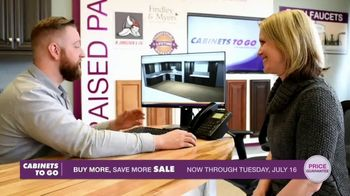Cabinets To Go Buy More, Save More Event TV Spot, 'Hottest Kitchen Trends' - Thumbnail 7