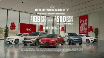 Kia 4th of July Summer Sales Event TV Spot, 'Great Taste' [T2] - Thumbnail 10