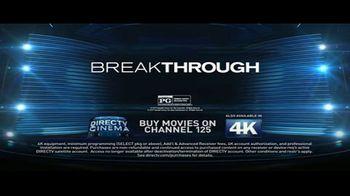 DIRECTV Cinema TV Spot, 'Breakthrough' - Thumbnail 9