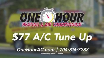 One Hour Heating & Air Conditioning TV Spot, 'The Sounds of Summer: $77 A/C Tune Up' - Thumbnail 9