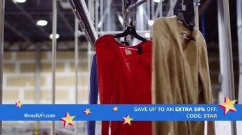 thredUP Happy 4th Sale TV Spot, 'Celebrate in Style' - Thumbnail 1