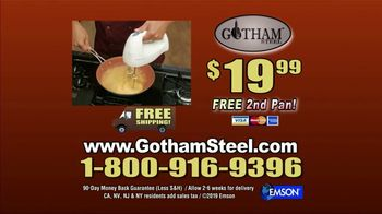 Gotham Steel Frying Pan TV Spot, 'Like Cooking on Air' Featuring Daniel Green - Thumbnail 9