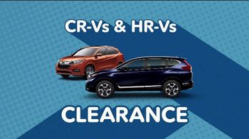 Honda 4th of July Sales Event TV Spot, 'Get Ready for Clearance' [T2] - Thumbnail 1