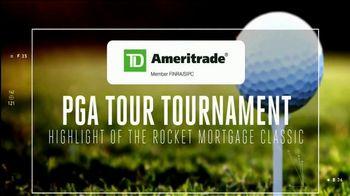 TD Ameritrade TV Spot, 'PGA Tour Tournament Highlight: 2019 3M Open' Featuring Nate Lashley - Thumbnail 2