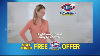 Clorox Scrubtastic TV Spot, 'Back-Breaking Scrubs' - Thumbnail 5