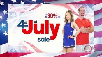 Tennis Express 4th of July Sale TV Spot, 'Save on Tennis Gear' - Thumbnail 1
