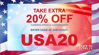 Tennis Express 4th of July Sale TV Spot, 'Save on Tennis Gear' - Thumbnail 2
