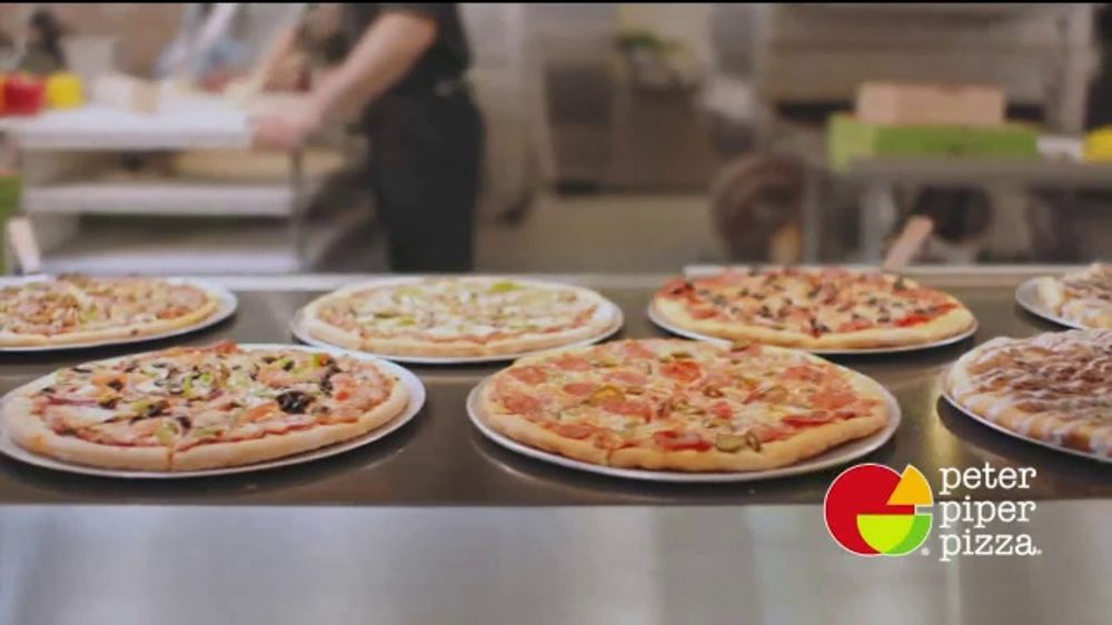 Astonishing Peter Piper Pizza Tv Commercial Weekday Lunch Buffet Video Home Interior And Landscaping Fragforummapetitesourisinfo