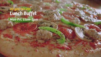 Peter Piper Pizza TV Spot, 'Weekday Lunch Buffet' - Thumbnail 4