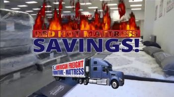 American Freight Red Hot Mattress Savings TV Spot, 'Zero Down' - Thumbnail 2