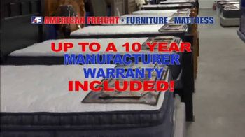 American Freight Red Hot Mattress Savings TV Spot, 'Zero Down' - Thumbnail 5