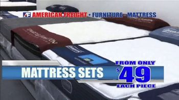 American Freight Red Hot Mattress Savings TV Spot, 'Zero Down' - Thumbnail 6