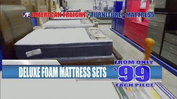 American Freight Red Hot Mattress Savings TV Spot, 'Zero Down' - Thumbnail 7