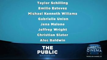 DIRECTV Cinema TV Spot, 'The Public' - Thumbnail 7