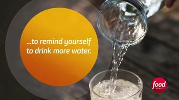Essentia Water TV Spot, 'Food Network: Stay Hydrated' - Thumbnail 3
