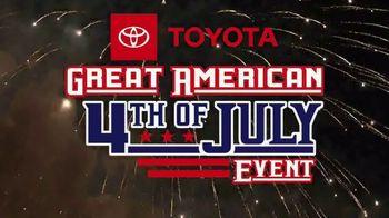 Toyota Great American 4th of July Event TV Spot, 'Celebrate the Savings: RAV4' [T2] - Thumbnail 2