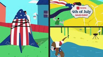 Toyota 4th of July Sales Event TV Spot, 'Blast In' [T2] - Thumbnail 2