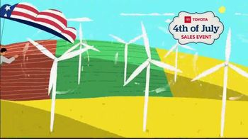 Toyota 4th of July Sales Event TV Spot, 'Blast In' [T2] - Thumbnail 3