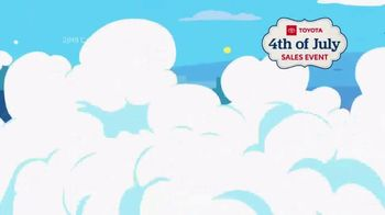 Toyota 4th of July Sales Event TV Spot, 'Blast In' [T2] - Thumbnail 4