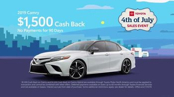 Toyota 4th of July Sales Event TV Spot, 'Blast In' [T2] - Thumbnail 5